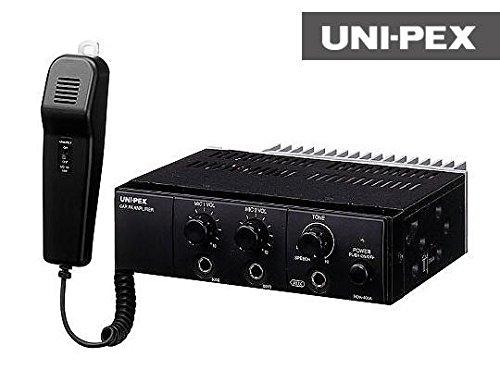 UNI-PEX(ユニペックス) 車載アンプ マイク付き NDA-602A B00KW0ES1K
