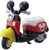 Takaratomy Tomica Disney Motors DM-13 Scooter Bike Mickey Mouse