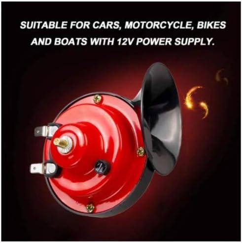 Dual Audio Air Horn Raging Sound f/ür Auto Motorrad LKW Boot FFOMG 300DB Zughorn f/ür LKWs Motorradhorn 12V Laut wasserdicht