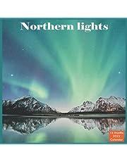 Northern lights Calendar 2022: Official Aurora Calendar 2022, 16 Month Calendar 2022