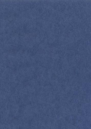 Décor Direct YWET4011 Clermont Double Roll of Decorative Non-Woven Wallpaper Cobalt