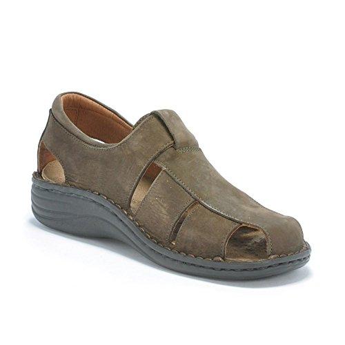 GR†NLAND Hombre sandalias y zapatos abiertos marrón