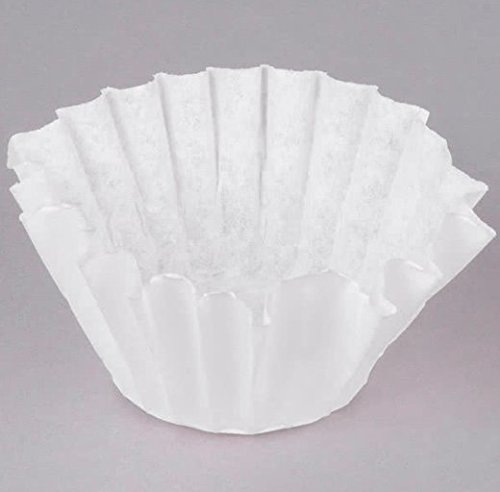 Bunn 20106.0000 8 1/2'' x 3'' 8 to 10 Cup Decanter Style Coffee Filter - 2000 pcs (2 1000/case)