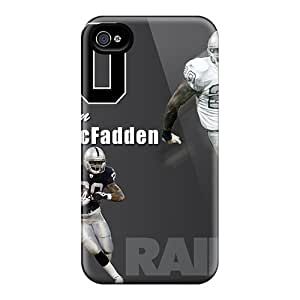 Top Quality Protection Oakland Raiders Case Cover For Iphone 4/4s