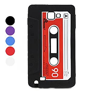 Cassette Style Silicone Case for Samsung i9220 (Assorted Colors) --- COLOR:Purple