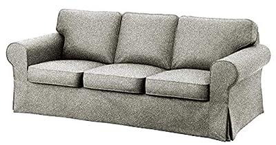 IKEA Ektorp 3 Seat Sofa Cotton Cover Replacement is Custom Made Slipcover for IKEA Ektorp Sofa Cover