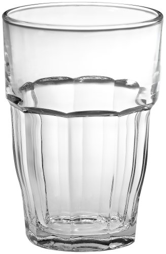 Bormioli Rocco Rock Bar 16-1/4-Ounce Stackable Beverage Glasses, Set of 6