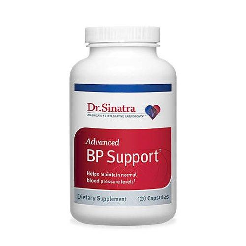 Supplément de soutien Dr Sinatra avancée BP pour pression sain sang, 120 capsules (approvisionnement de 30 jours)