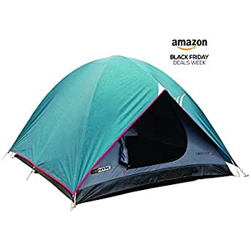 NTK Cherokee GT 5 to 6 Person 9.8 by 9.8 Foot Outdoor Dome Family Camping Tent 100% Waterproof 2500mm, Easy Assembly, Durable Fabric Full Coverage Rainfly - Micro Mosquito Mesh for Maximum Comfort.