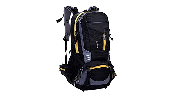 lethigho 40L impermeable montañismo senderismo mochila deportes al aire libre escalada mochila con Cubierta de Lluvia Casual Bolsa hombros de senderismo, ...
