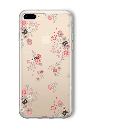 Milkyway Cases DITSY Clear TPU Cell Phone Case for IPHONE 7 - Retail Packaging