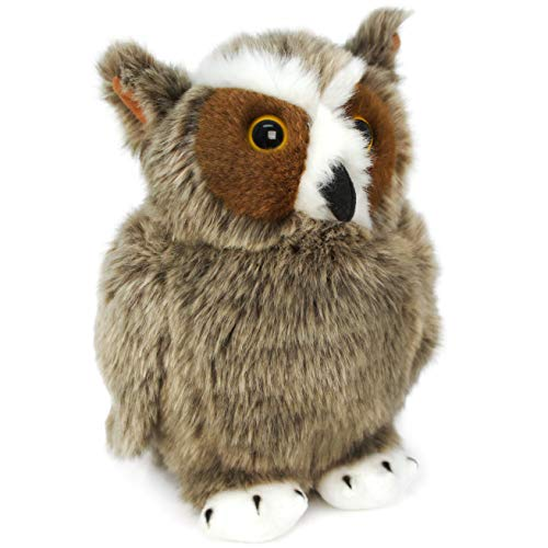 Great Horned Owl Animals - VIAHART Harriet The Great Horned Owl   9 inch Animal Plush   by Tiger Tale Toys