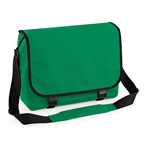 GREAT IN 12 MESSENGER Green BAGBASE BAG COLOURS Kelly qxFBwI1w