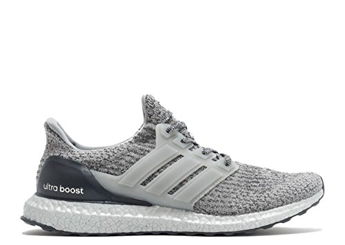 adidas Men's Ultraboost Running Shoe, Medium Dark Grey Heather, 4 M US by adidas (Image #2)