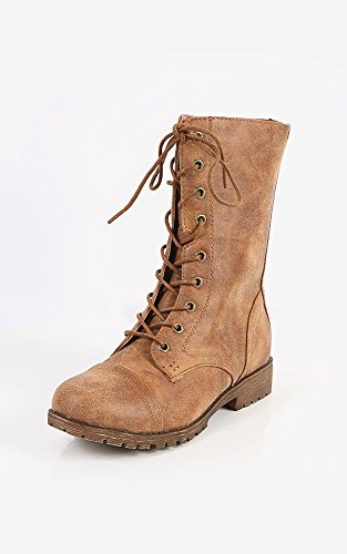 Makemechic Bamboe Warrior-04 Vintage Combat Boots