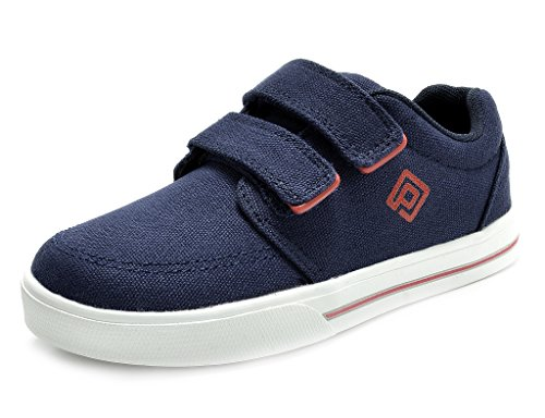 DREAM PAIRS Little Kid 160471-A Navy Red Fashion Sneakers Loafers Shoes Size 1 M US Little Kid