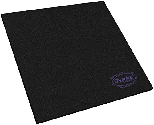 Auralex Acoustics HoverDeck v2 Drum Isolation Riser Platforms, 1'' x  23.75'' x 23.75'', 1 Set by Auralex Acoustics