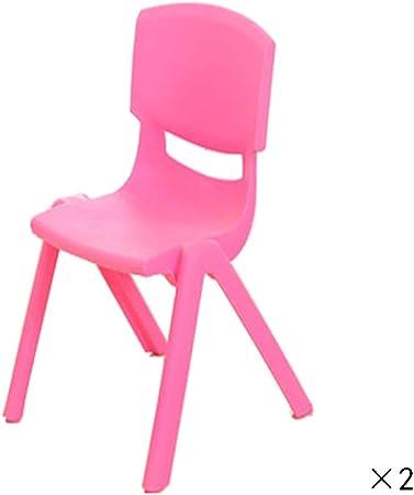 WFENG Tables et Chaises pour Enfants Chaise en Plastique ...