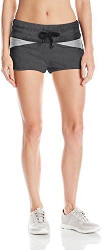 Blanc Noir Womens Moto Jog Short