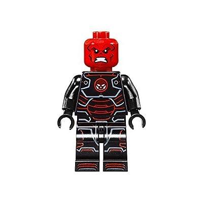 LEGO Marvel Superheros Loose Minifigure Hydra Leader Iron Skull: Toys & Games