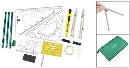 DealMux Student Plotter Combo Mapper Desenho Mecânico Instruments ...