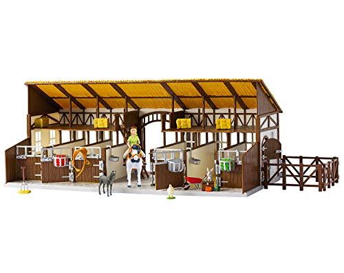 CRAZE Bibi and Tina BIBI & Tina Large Martinshof Horse Riding Stable incl. Toy Figures and Accessories 14899, ()