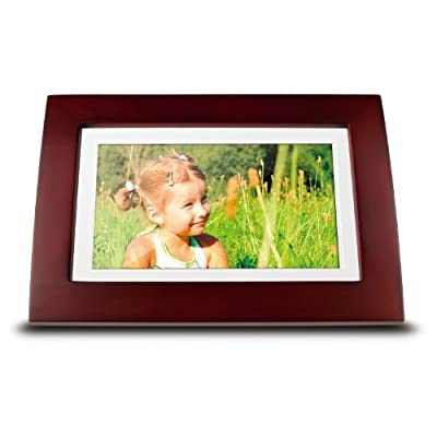ViewSonic VFA720W-10 7-Inch Digital Picture Frame - Wooden