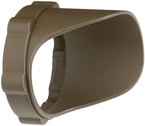 Kichler 15701AZTP Accessory Snap-on Cowl - Short 4.5W/8.5W, Textured Arch Bronze Polycarbonate
