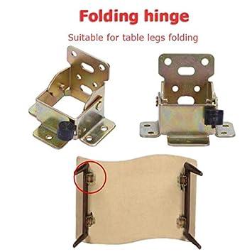 Muebles bisagra de hierro plegable mesa soportes patas silla de ...