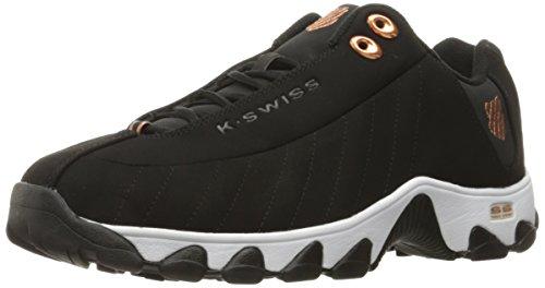 K-Swiss St329CMF de entrenamiento para hombre zapatos Negro/Cobre