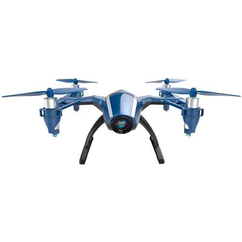 UDI RC U28W 2.4GHz Wi-Fi FPV Quadcopter with Wide-Angle 720p HD Camera, Altitude Hold Mode, Remote Controller Included, Black/Blue