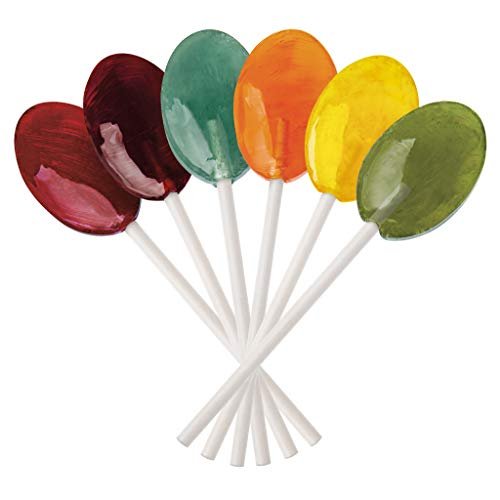 Dr. John's Inspired Sweets Classic Fruits Collection Sugar Free Lollipops (1 Lb)]()