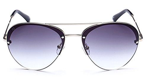 "PRIVÉ REVAUX ""The Warrior"" Handcrafted Designer Aviator Sunglasses For Men & Women"