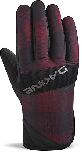 Dakine Mens Snowboard Glove (Dakine Men's Crossfire Gloves, X-Large, Red Check)