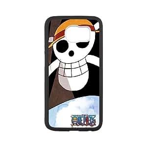 Samsung Galaxy S6 Cell Phone Case Black_One Piece Flag Lvkuv