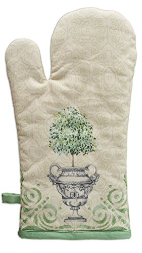 - Maison d' Hermine Jardin du Roy 100% Cotton Oven Mitt 7.5 Inch by13 Inch