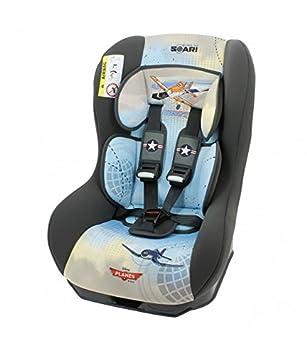 MyCarSit - Silla elevadors infantil para coche de Aviones de Disney, de 0 a 18 kg
