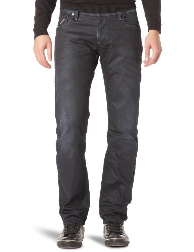G-Star Attacc Low Straight - Jeans - Homme Blau (Vintage Aged 3139-1368)