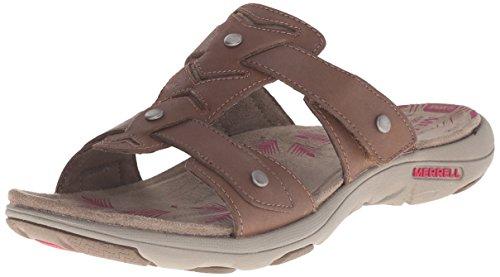 Adhera Sandal Brown Merrell Merrell Sandal Adhera Slide Slide Adhera Brown Slide Merrell qvtvgr