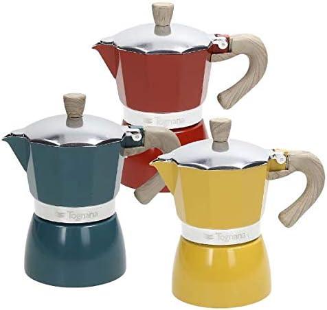 Cafetera Vintage 3 tazas de Aluminio: Amazon.es: Hogar