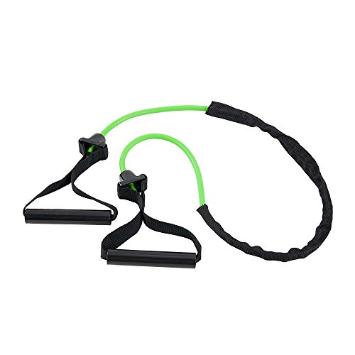 Power Systems Ultra Versa Tube, Resistance Band Level:  Light, Lime Green, 48 Inch, (84153)