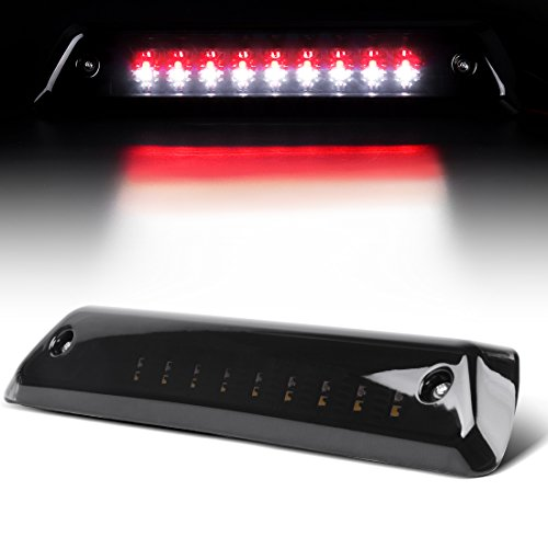 LED 3rd Brake Light for 2009-2014 Ford F-150 Smoked High Mount Trailer Cargo Lamp Tail Lights DWBL1010 - Brake Light Smoked 3rd
