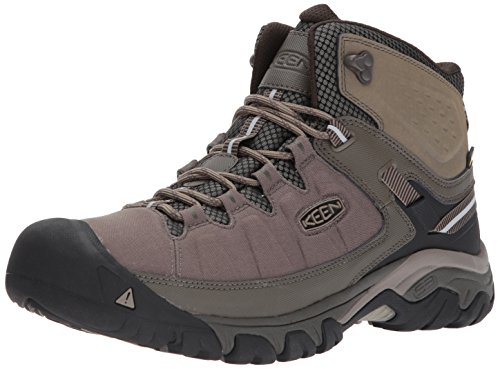 KEEN Men's Targhee Exp Mid Wp-m Hiking Boot, Bungee Cord/Brindle, 10.5 M US by KEEN