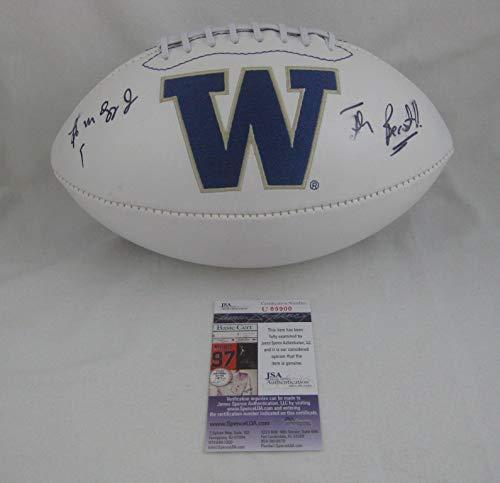 Bob Sapp Autographed Football - WASHINGTON HUSKIES Logo w THE BEAST - JSA Certified - Autographed College Footballs