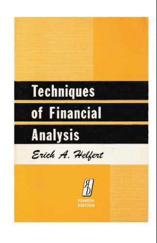 Financial Analysis Techniques: Financial Analysis Tools and Techniques