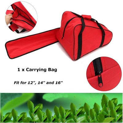 FidgetGear 12 14 16'' Chainsaw Chain Saw Carrying Bag Case Protective Holdall Holder Box from FidgetGear