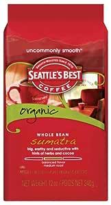 Amazon.com : Seattle's Best Coffee Organic Sumatra Whole ...