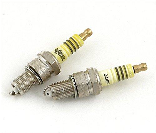 Accel Plugs y2418p Platinum bujías & # 44; Juego de 2: Amazon.es: Amazon.es