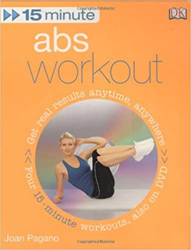 15 Minute Abs Workout + DVD: Joan Pagano: 0000756642035: Books - Amazon.ca