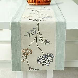 Bordado Floral MEIHAO einfachklever, polyester/lino 203,2 cm * 14 pulgada